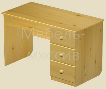 Письменный стол из массива сосны